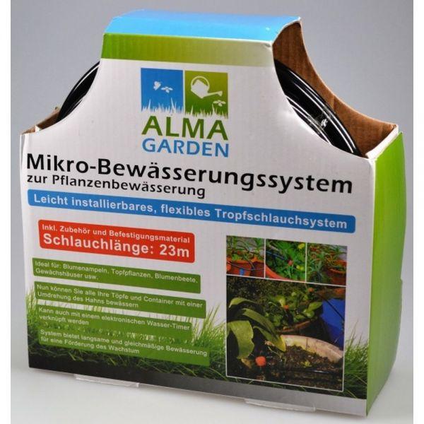 Bewässerungssystem automatisch 23m schwarz